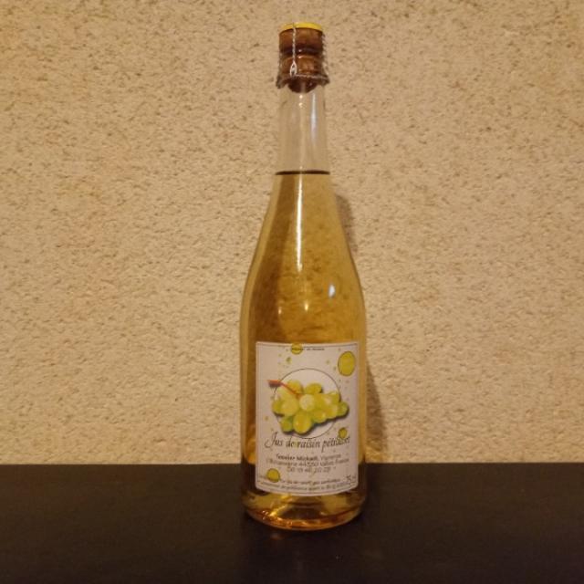 JUS DE RAISIN PETILLANT ( Sans alcool )