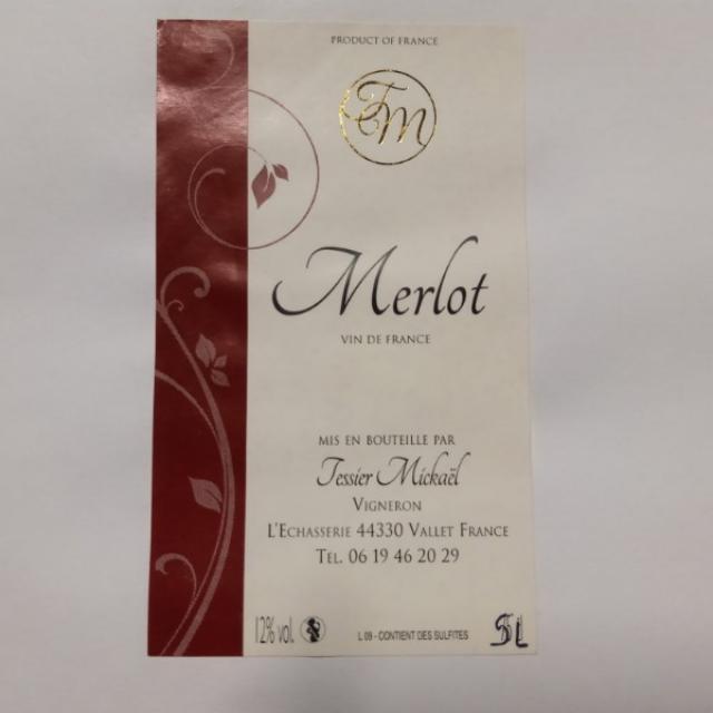 MERLOT ROUGE BIB 5L