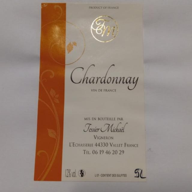 CHARDONNAY BIB 5L